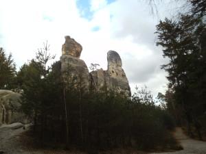 Kámen, který vypadal, že každou chvilku musí spadnout :-)