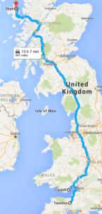 Cesta na Skye